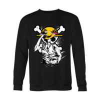 One Piece - Straw Hat Pirate Luffy - Holiday Special Sweatshirt - TL00913SW