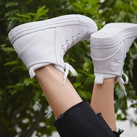 Free People Mono Leather Lace Up Sneakers