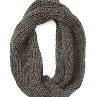 FOREVER 21 Chunky Twisted Infinity Scarf