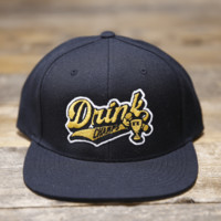 Drink Champs Sports Snapback Baseball Hat