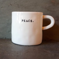Rae Dunn Peace Mug