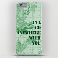"Military Map Phone case, ""i'll go Anywhere with you"" Love Green Samsung Galaxy S3,S4, S5  iphone 6, 4/4S, 5 - army, navy Phone, unique, gift"
