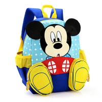 Cartoon  mickey children backpacks/kids kindergarten backpack/kid school bags/Satchel for boys and girls
