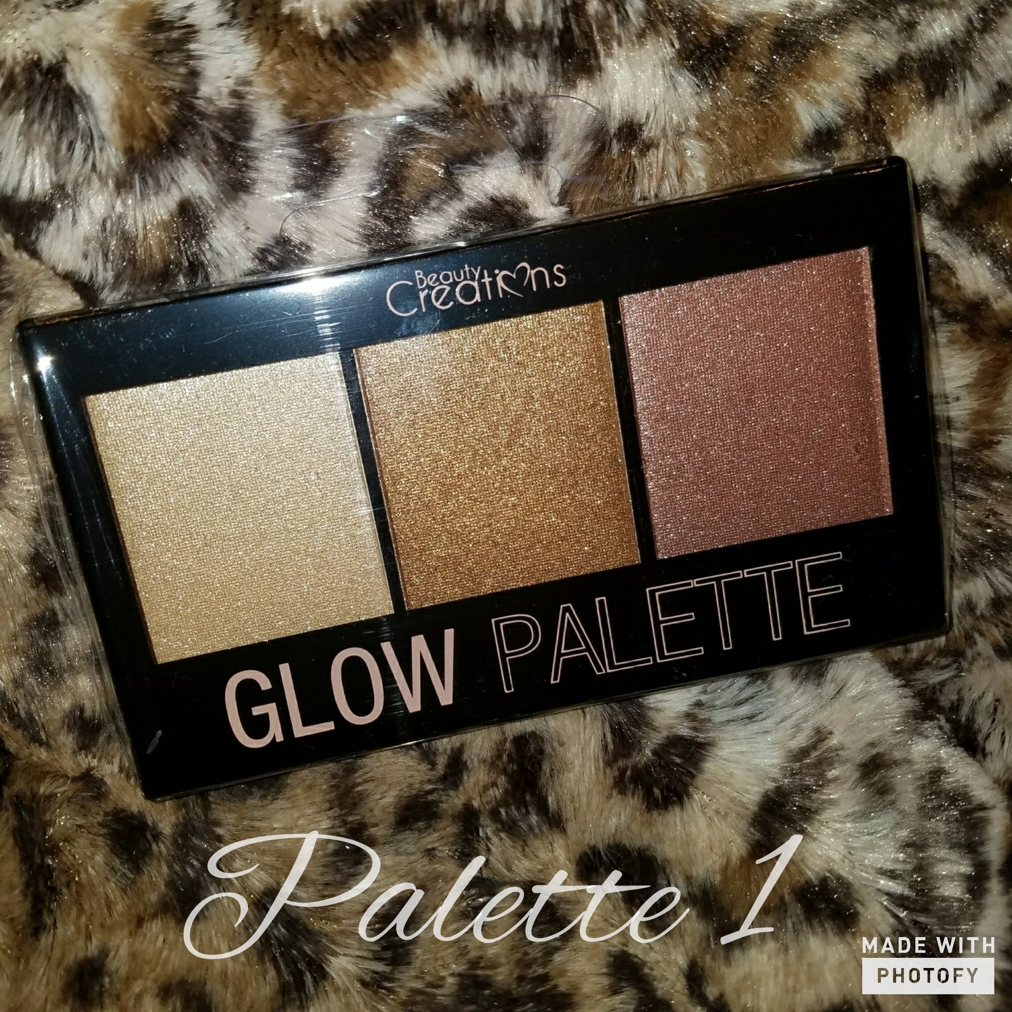 Image of Beauty Creations Glow Palette highlighter #1