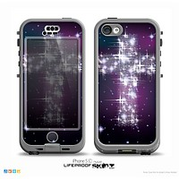 The Glowing Starry Cross Skin for the iPhone 5c nüüd LifeProof Case