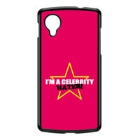 Celebrity Hater Black Hard Plastic Case for Google Nexus 5 by Chargrilled