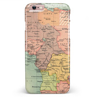 The Zoomed In Africa Map  iPhone 6/6s or 6/6s Plus INK-Fuzed Case