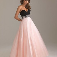 Women's Sexy Formal Long Dress Party Prom Bridesmaid Strapless Ball Gown Fashion Beautiful Dresses