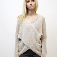 Xcuse Me Sweater (Oatmeal)