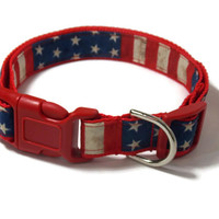 Let Freedom Fly - Fourth of July Dog Collar