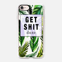 Get Shit done iPhone 7 Case by Vasare Nar | Casetify