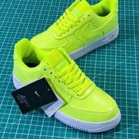 Nike Air Force 1 Low Af1 07 Lv8 Patent Leather Pack Green Aj9505-700 Sport Shoes Sneakers - Best Online Sale