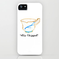 ITS CHIPPED  iPhone & iPod Case by Lauren Lee Designs