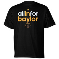 Baylor Bears adidas All In For T-Shirt – Black