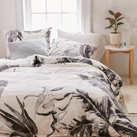 Expressive Palms Duvet Cover   Urban Outfitters