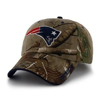 Official New England Patriots ProShop - '47 Brand Realtree Frost Cap-Camo