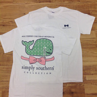 Simply Southern White Whale Short Sleeve