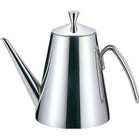 TOOLBAR 0.5 Quart Stainless Steel Olive Oil Can Drizzler With Drip-free Spout