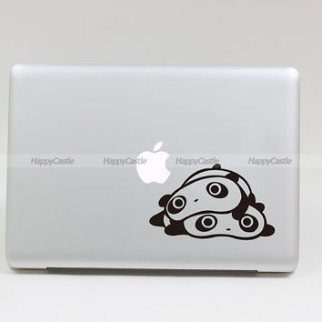 Panda's Lonely Macbook Decal Pro/Air Sticker by Newvision2012