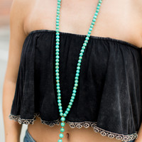 Betsy Pittard Designs Andi Necklace - Turquoise
