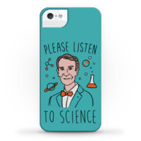 PLEASE LISTEN TO SCIENCE PHONE CASE