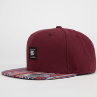 Dc Shoes Buddy Mens Strapback Maroon One Size For Men 22718632301