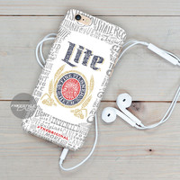 Beer Patter Miller Lite iPhone Case Cover Series