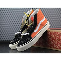 Vans SK8 Hi 38 DX High Top Men Flats Shoes Canvas Sneakers Women Sport Shoes