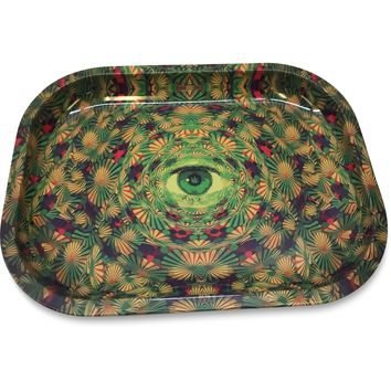 Designed Metal Rolling Tray (Mini) - It's a TRIP