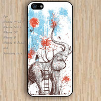 iPhone 5s 6 case elephant case up heart phone case iphone case,ipod case,samsung galaxy case available plastic rubber case waterproof B531
