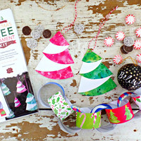 Instant Download Christmas Ornaments