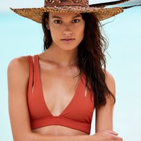 Free People Plantation Bikini Top