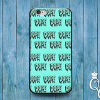 iPhone 4 4s 5 5s 5c 6 6s plus iPod Touch 4th 5th 6th Generation Cute Dope 420 Hip Hipster Cool Custom Pattern Blue Phone Case Funny Cover