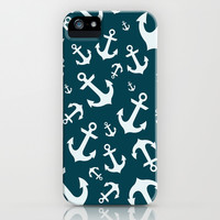 anchor iPhone & iPod Case by laika in cosmos