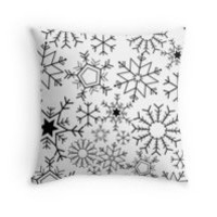 'Snowflakes' Wall Tapestry by adiosmillet