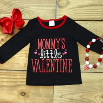 """Mommy's Little Valentine"" Tee"