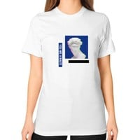 You Are A Waste Tee (on woman)