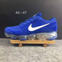 2018 Nike Air VaporMax cdg Airmax Royal Blue Sport Shoe US8-13