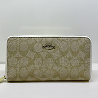 COACH Women Leather Print High Quality Wallet Purse