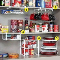5 Pieces Set for Cabinet Organizer