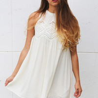 Free To Be Me Crochet Dress