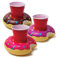 BIG MOUTH INFLATABLE DONUT BEVERAGE BOATS