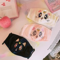 Sailor Moon Luna Diana Artemist Mouth Masks SD02173