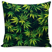 Weed Couch Pillow