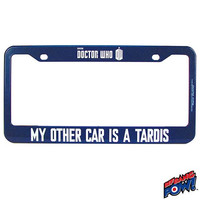 Doctor Who - My Other Car Is A TARDIS License Plate Frame