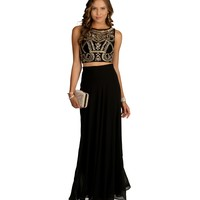 Kendall- Black Prom Dress
