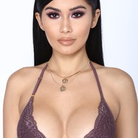 The Sweetest Thing Bralette - Burgundy