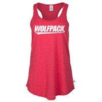 Official NCAA North Carolina State University Wolfpack NC State NCSU Women's Athlesiure Racerback Tank Top