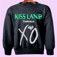 """KISS LAND"" The Weeknd Crewneck"