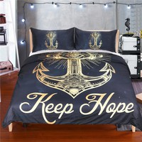 dream catcher moon black anchor Duvet Cover Set With Pillowcases twin double full queen king bedspread Bed Linen bedding set